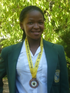 Asiphe Mbabala - Medal Winner at Ceres
